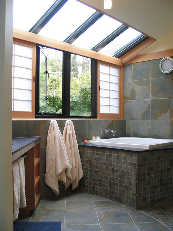 Custom Japanese Bath Remodel Seattle Sortun Vos Architects