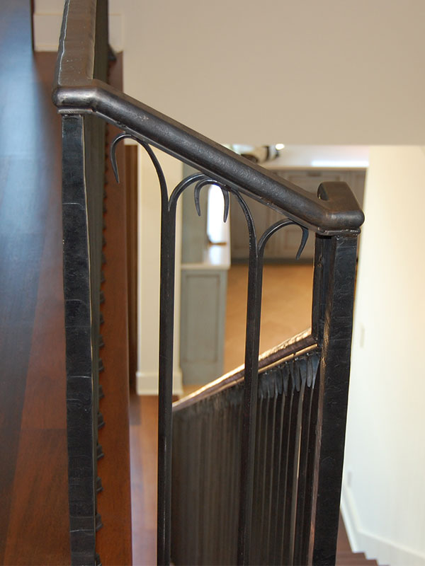 hand-forged railings